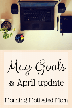 May Goals
