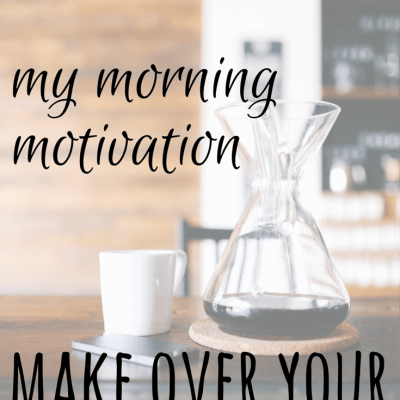 Make Over Your Mornings Sale