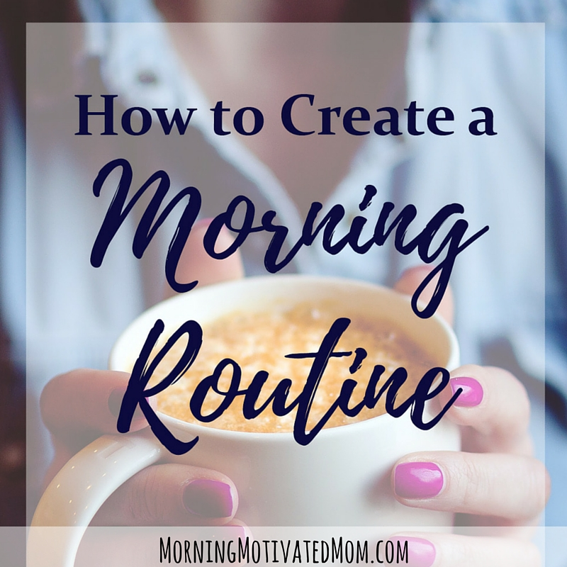 How to Create a Morning Routine: Free Printable Worksheets. Create a morning routine! Use these free printable worksheets to help you plan your morning. A great place to start is to think of the 7 Habits to Add to Your Morning Routine