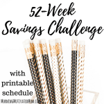 52 Week Money Saving Challenge