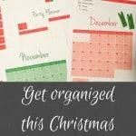 Get Organized this Christmas
