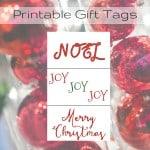 Merry Christmas Gift Tags Printable