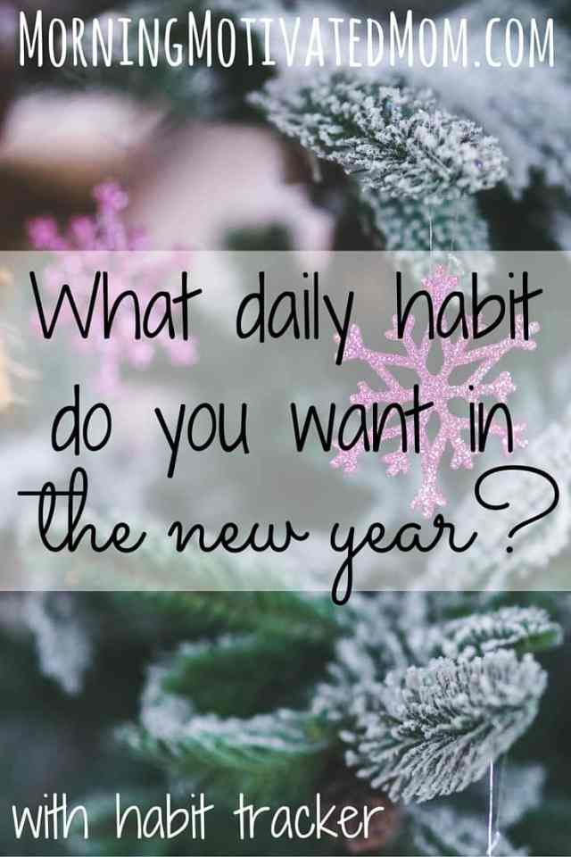 What daily habit do you want in 2016? With Daily Habit Tracker.