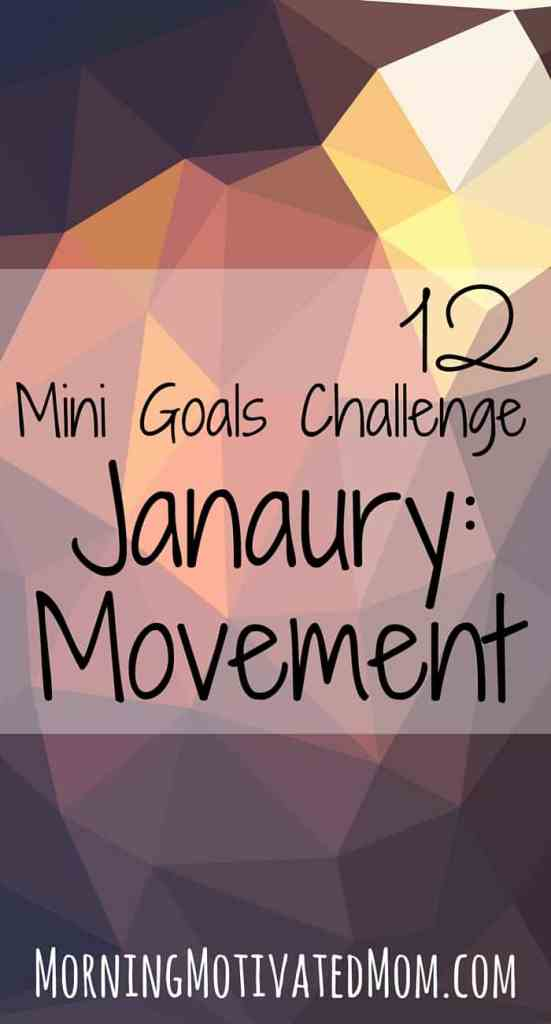 12 MIni Goals Challenge: January Mini Goal: Daily Movement