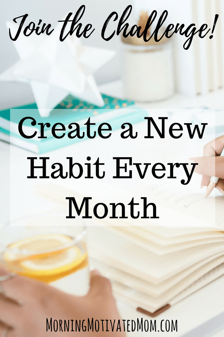 12 Mini Goals Challenge. Create a new habit every month. Each month, I will share the habit or mini goal for the month, provide a free printable tracker, and share tips, tricks, and links for the monthly habit or mini goal. | Goal Setting | Creating new Habits | Daily Habits | Tracking habits