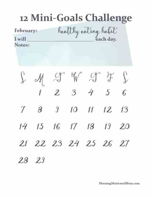 February Challenge: Less Evening Snacking
