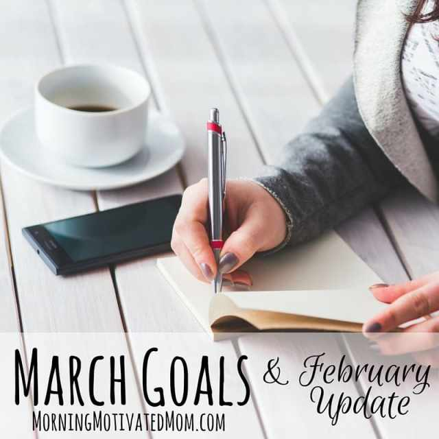 Monthly Goals - March - Monthly Goalsetting.