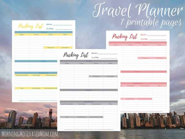 Travel Planner Printables (1)