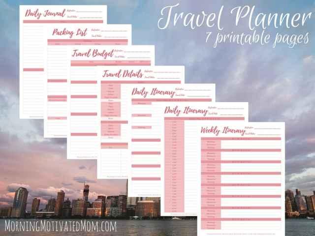 Travel Planner Printables (4)