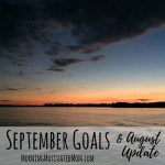 Monthly Goals – September