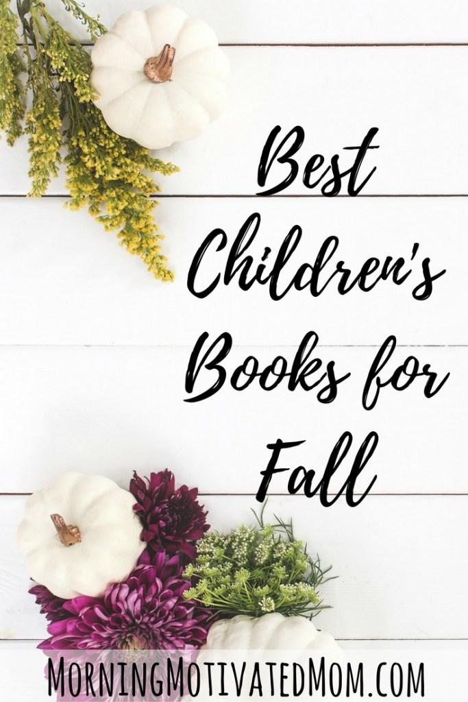 Best Children's Books for Fall