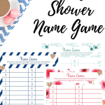 Baby Shower Name Game Printable