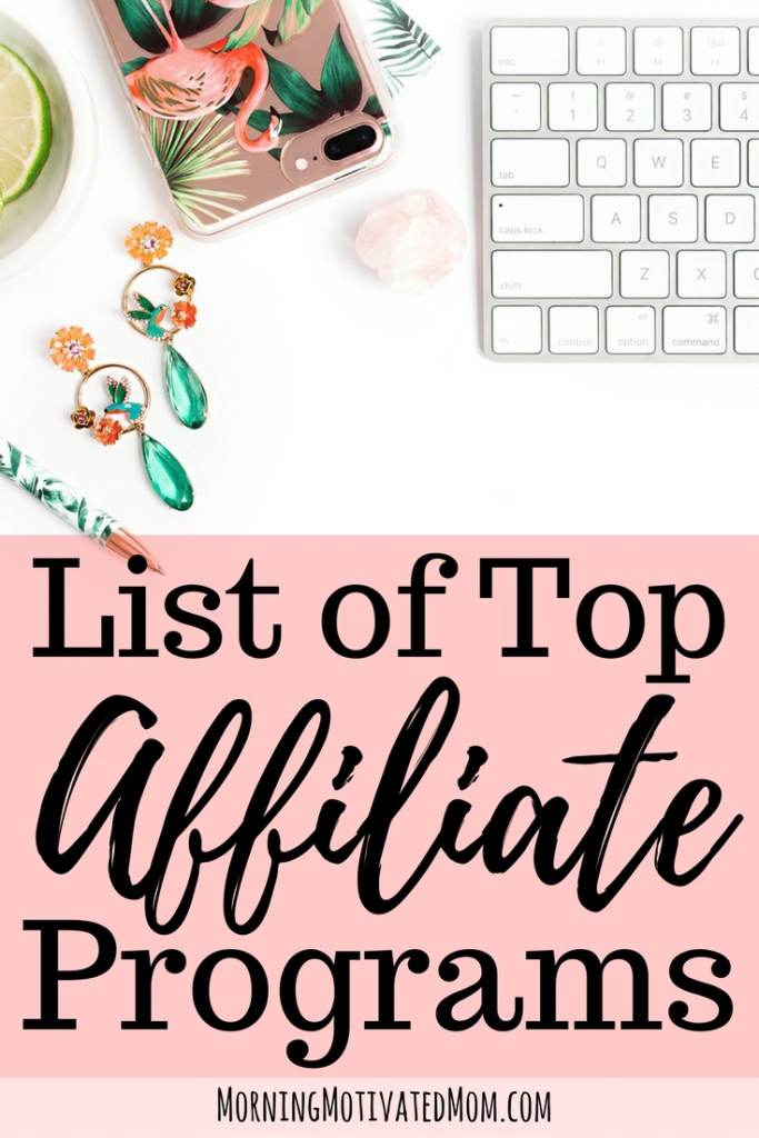Top Affiliate Programs and Recommendations. Here is my list of affiliate ideas for bloggers and the top affiliate programs for bloggers