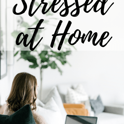 Tips for Stressful Times at Home