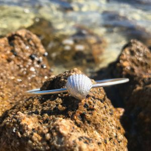 Mornington Sea Glass Shell Bangle