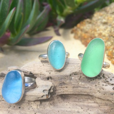 Ring Collection by Mornington Sea Glass