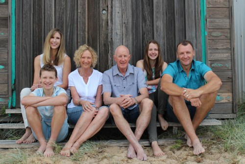 Meet the family of beachcombers! Photo credit: Elizabeth Whyld Photography