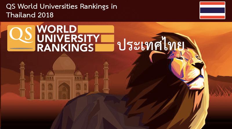 จัดอันดับมหาวิทยาลัยไทย ปี 2018 ม.นเรศวร คว้าอันดับ 11