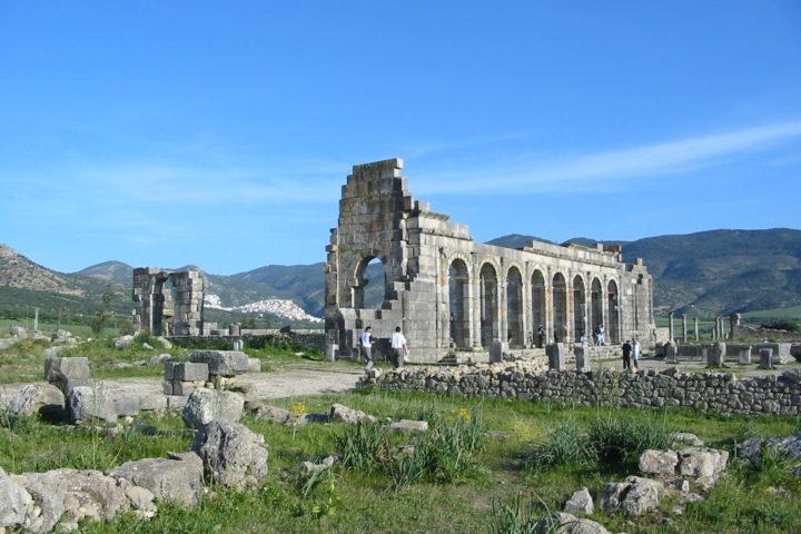 Volubilis ancient Romain ruin site