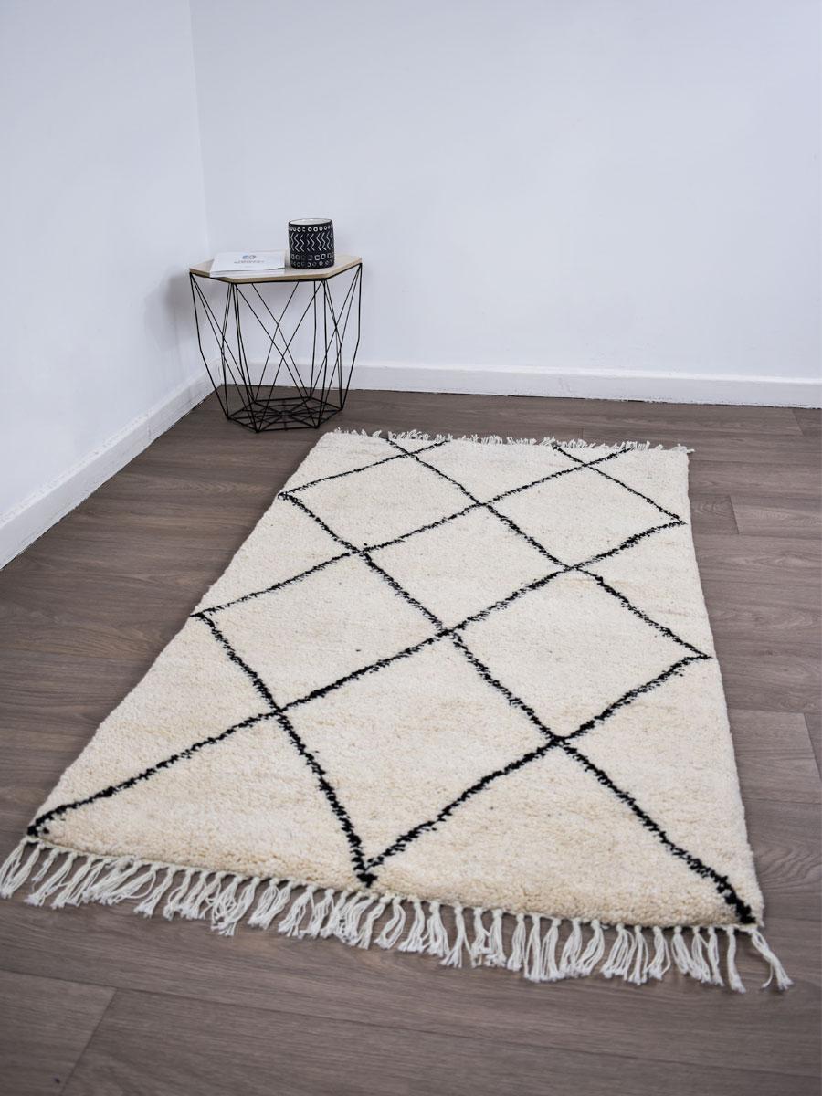 tapis beni ouarain 140 x 80 cm