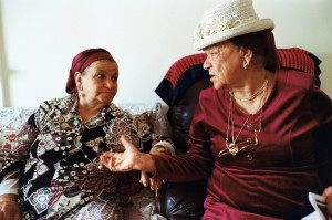 Aicha and Hannah, two Moroccan Jews living in Israel