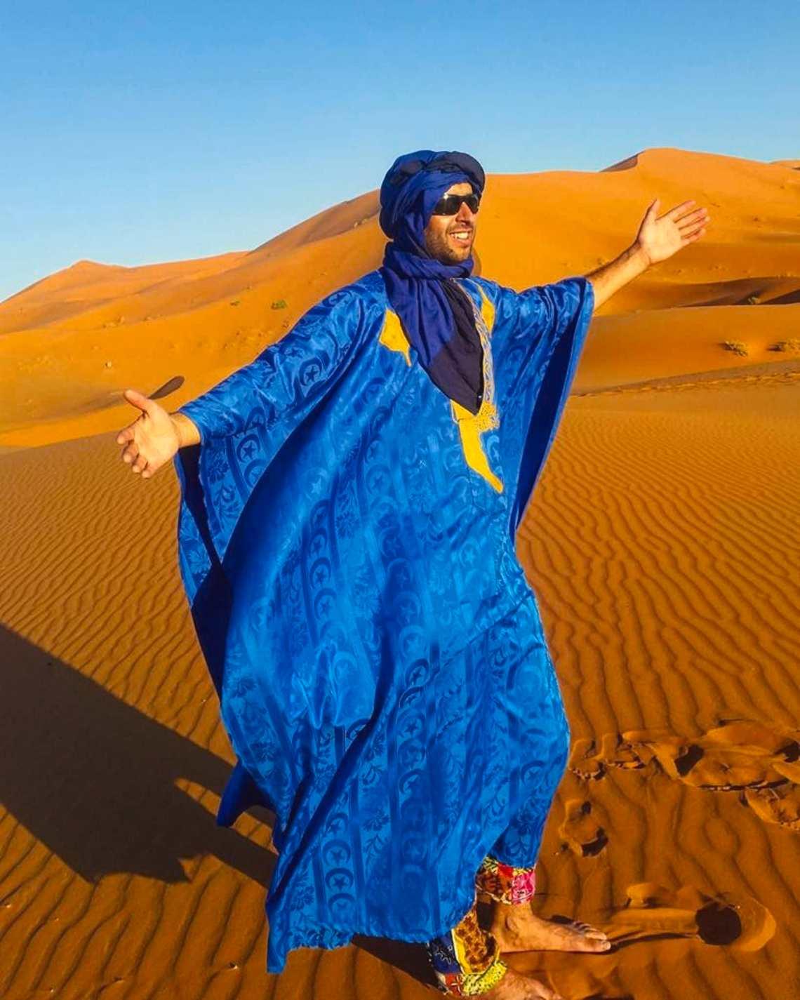 Moroccan Tour Guide Receives World Guide Award