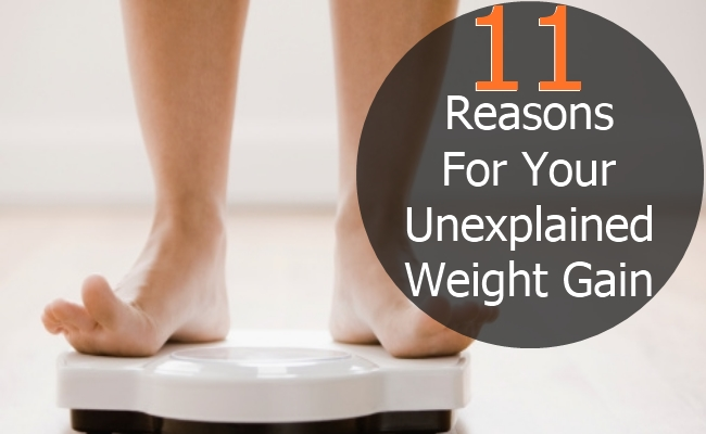 Reasons For Your Unexplained Weight Gain