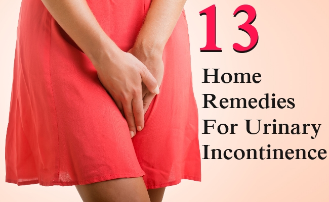 13 Home Remedies For Urinary Incontinence | Morpheme