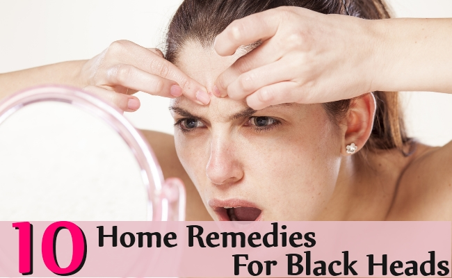 Home Remedies For Black Heads