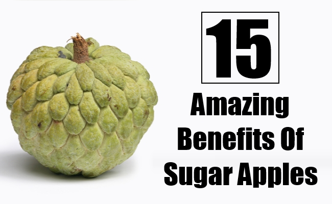 Amazing Benefits Of Sugar Apples