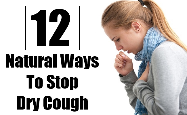Natural Ways To Stop Dry Cough