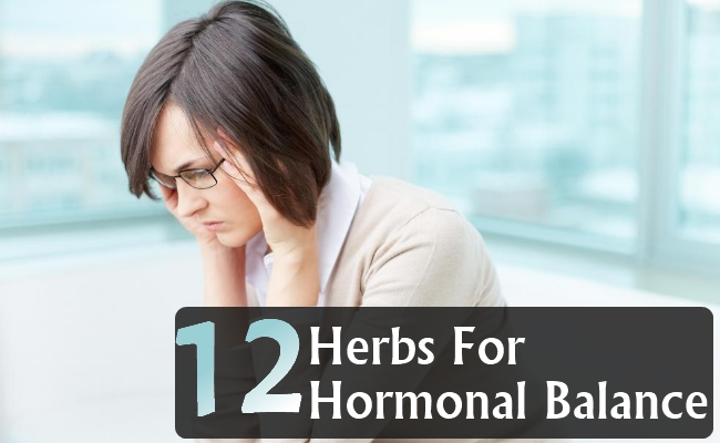 Herbs For Hormonal Balance