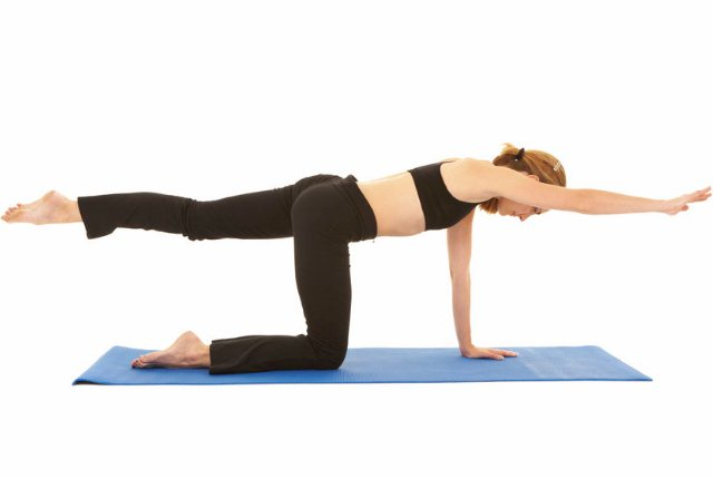 Leg And Arm Extension Exercise