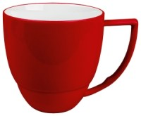red cup with handle