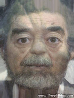 Saddam Hussein's Face Combined with Yoda -