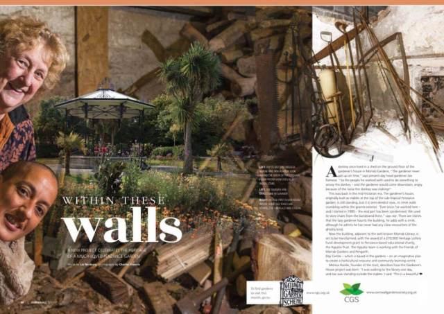 Morrab Gardens Penzance - Gardeners' House Project