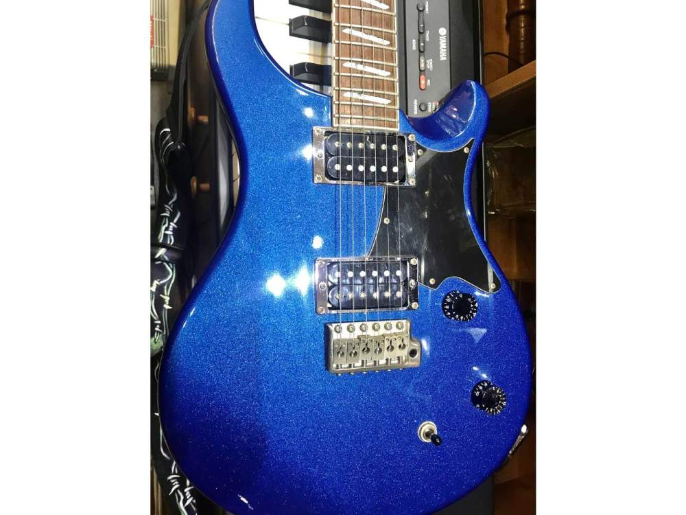 PRS Through neck Santana Model