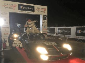 Arrivée GT40