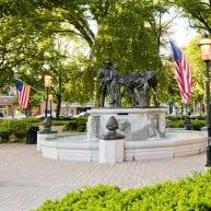 Morristown Green statue