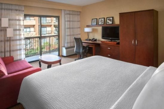 Whippany Marriott hotel room