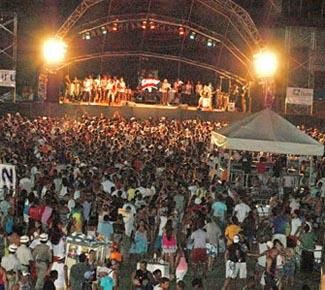 Carnaval na Gamboa do Morro de São Paulo