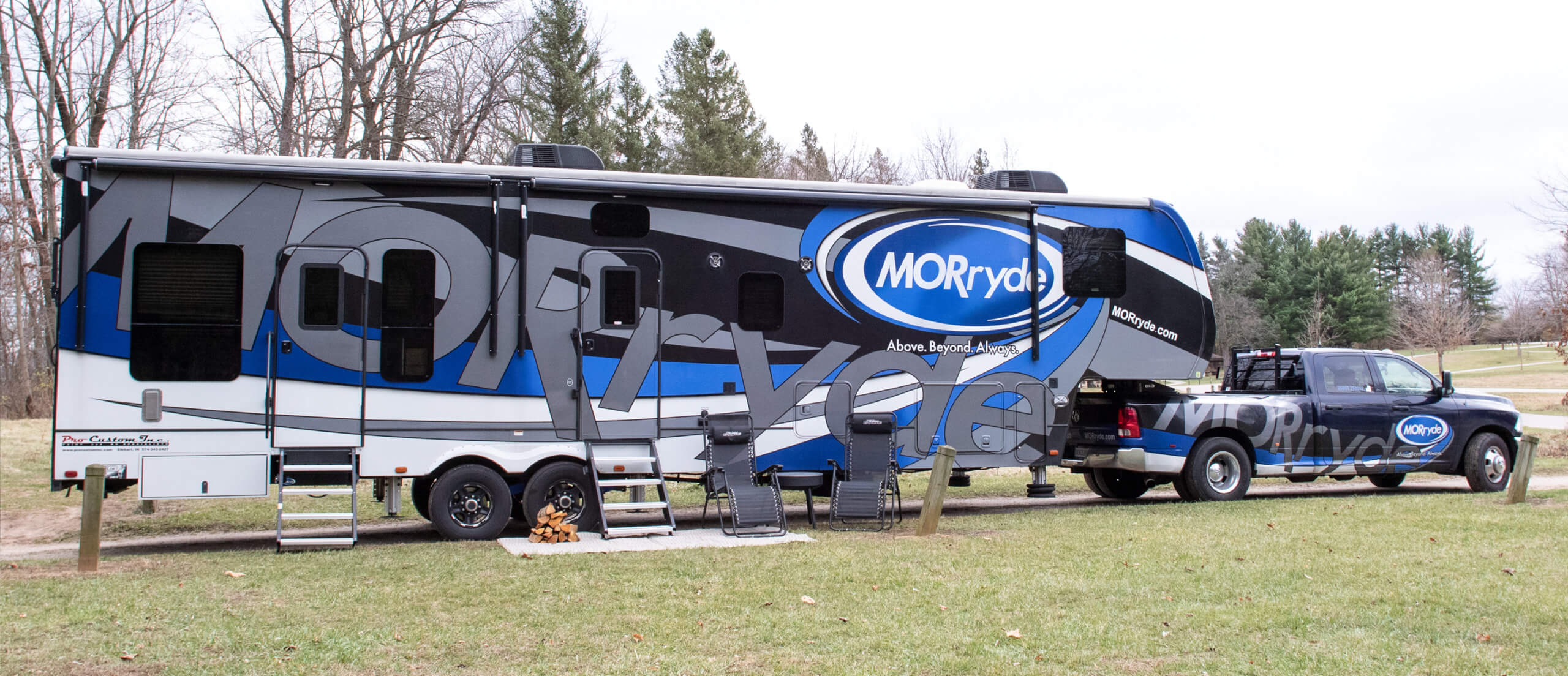 rv upgrades on the morryde 5th wheel