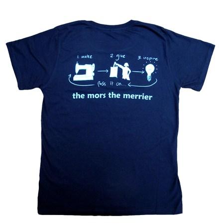 Morsbags T-shirt Inspire - Back