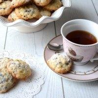 Biscotti al cocco con cioccolato e riso soffiato