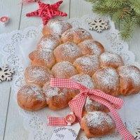 Albero di Pan Brioche dolce (simil danubio)