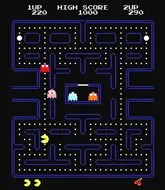 Pac-Man Game Screen