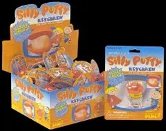 Silly Putty in packages