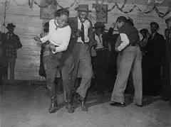 Jitterbugging in a Negro Juke Joint
