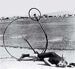 Penny Farthing Bicycle Crash