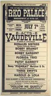 Later vaudeville bill